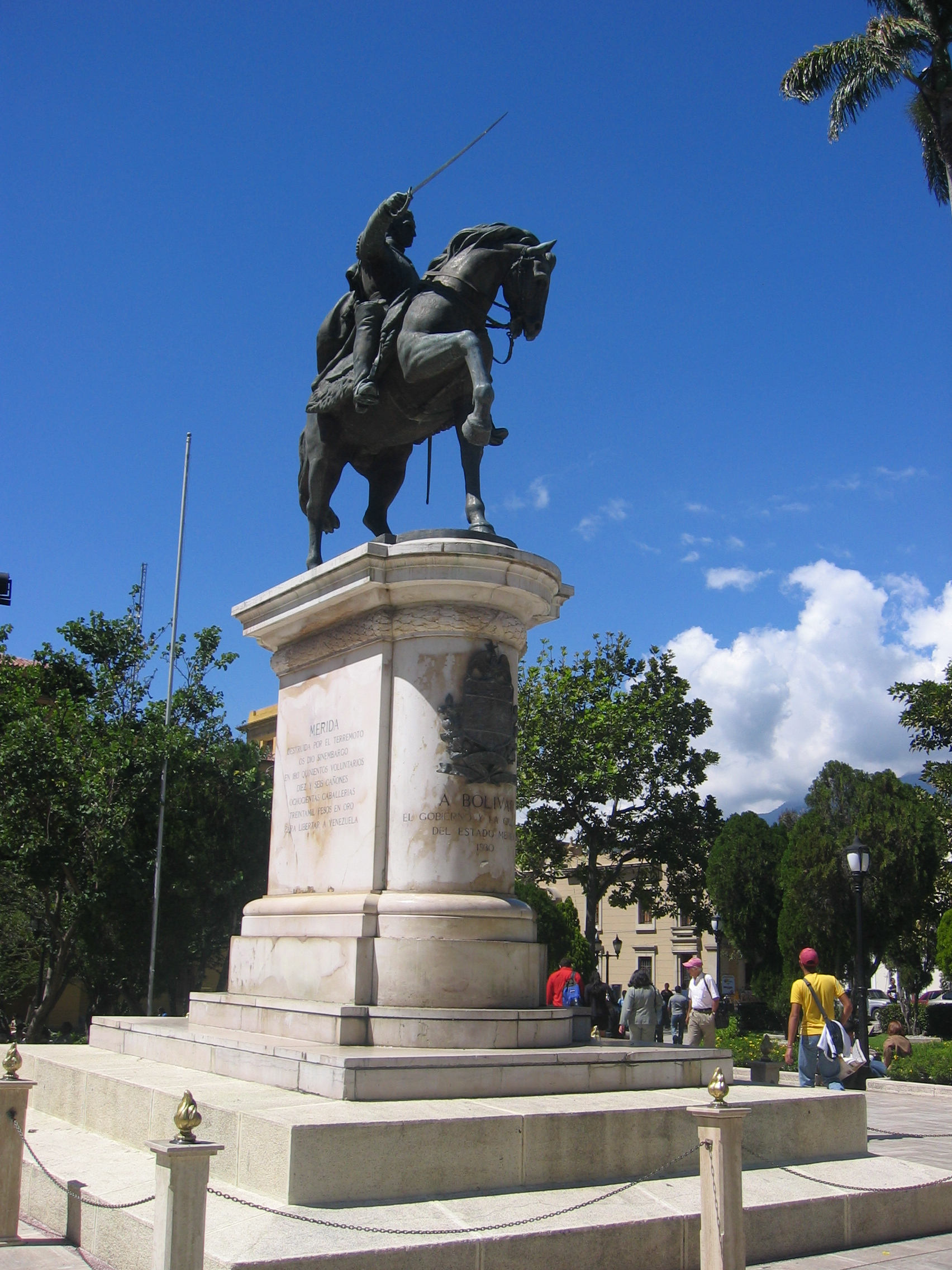 Merida Plaza Simon Bolivar
