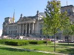 Warteschlangen vor dem Reichstag