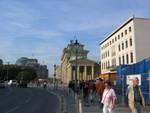 Brandenburger Tor und Reichstag