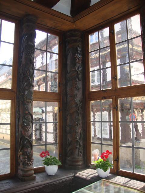 Siemenshaus Fensterfront