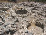 Steinzeit Reste eines Dorfes in Zypern