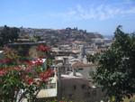 Blick von Cerro Alegre auf Cerro Playa Ancha